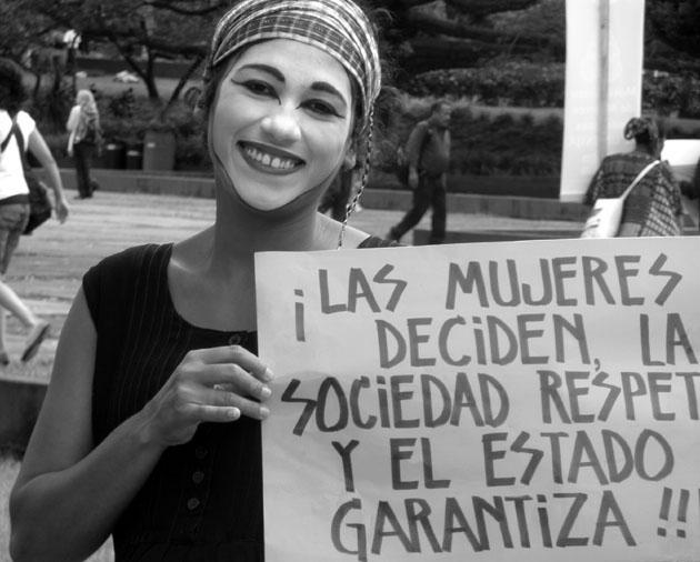 Acción en Guatemala. Imagen facilitada por Mugarik Gabe.