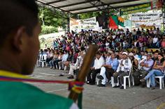 El Congreso Regional de Paz del Sur-Occidente colombiano en la retina