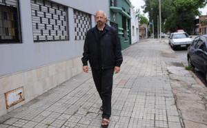 Jamal Juma en Montevideo – Foto Federico Gutiérrez (Brecha)