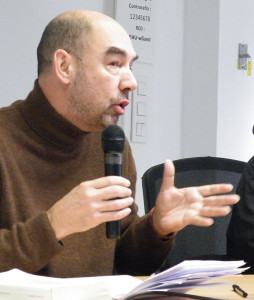 Santiago Alba Rico. Bilbao, febrero de 2014. Fotografía: www.revistapueblos.org.