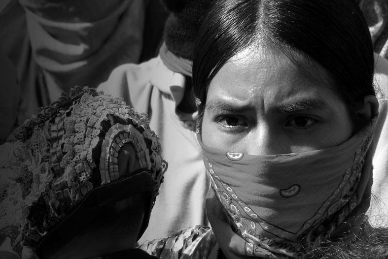 Resultado de imagen de ojos mujeres zapatistas