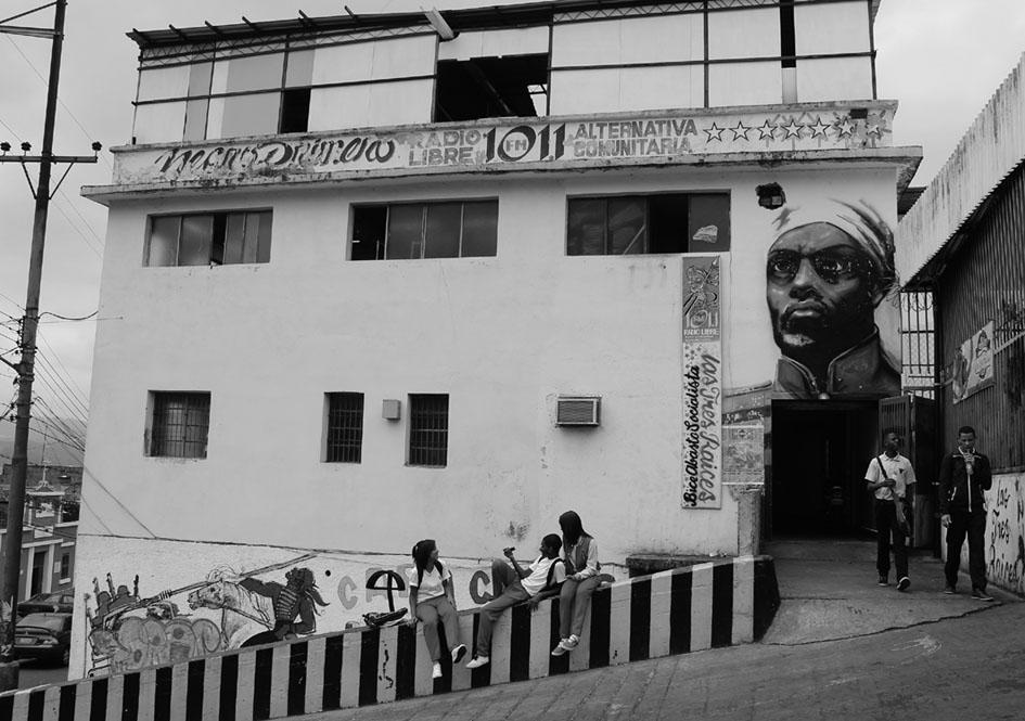 Emisora Negro Primero. Fotografía: Mª Cruz Tornay Márquez.