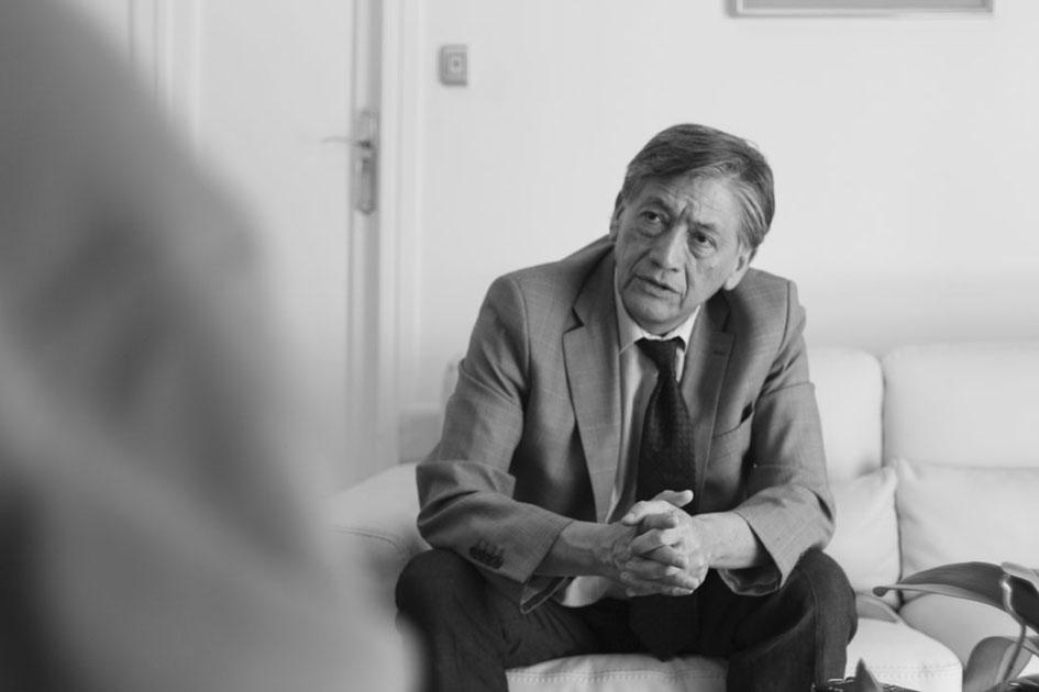 Miguel Calahorrano. Fotografía: Alba Onrubia García.