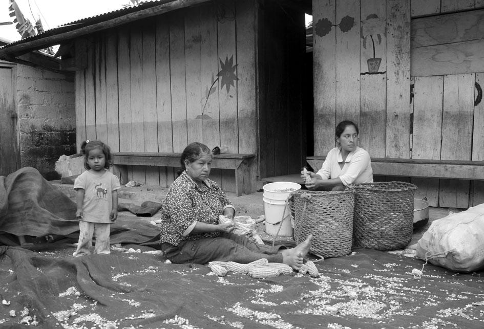Comunidad de Junín, que desaparecería de llevarse adelante el proyecto. Fotografía: Mª Cruz Tornay.