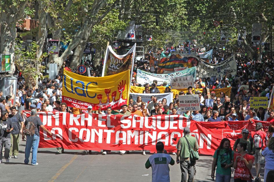 8ª UAC y marcha en vendimia marzo 2012. Fotografía: Mariano Nadalich (diseñador gráfico, UNCuyo).