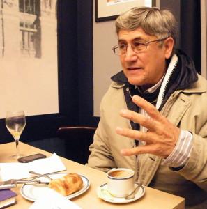 German Roncancio, fotografiado en Bilbao por Andrea Gago.