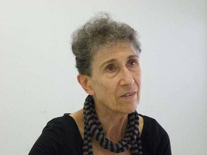 Silvia Federici, fotografiada en Vic en 2015 por Beatriz Plaza.