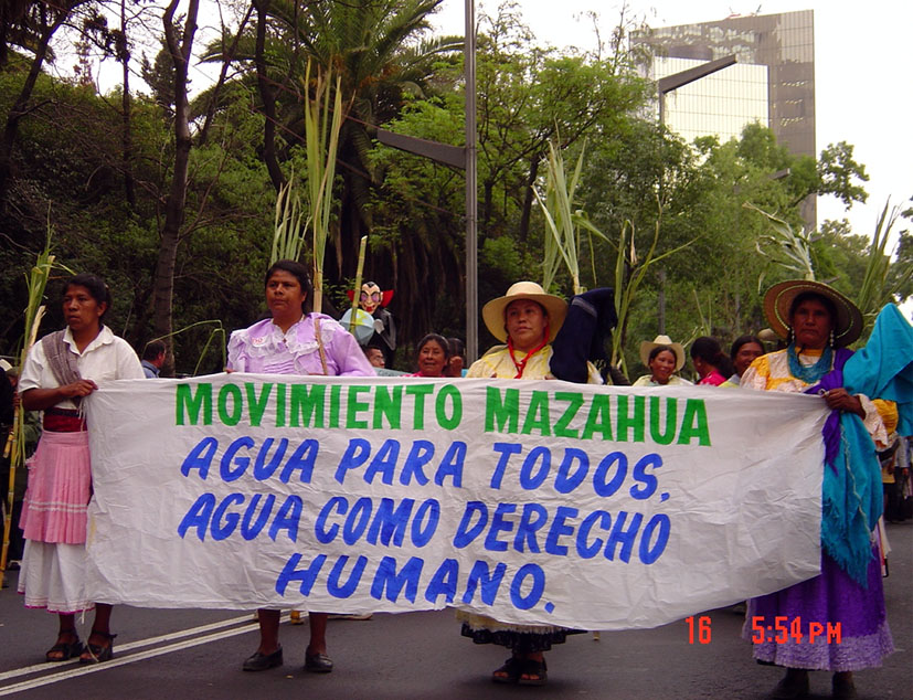 Ejército Zapatista de Mujeres en Defensa del Agua. Fotografía de Anahí C. Gómez.