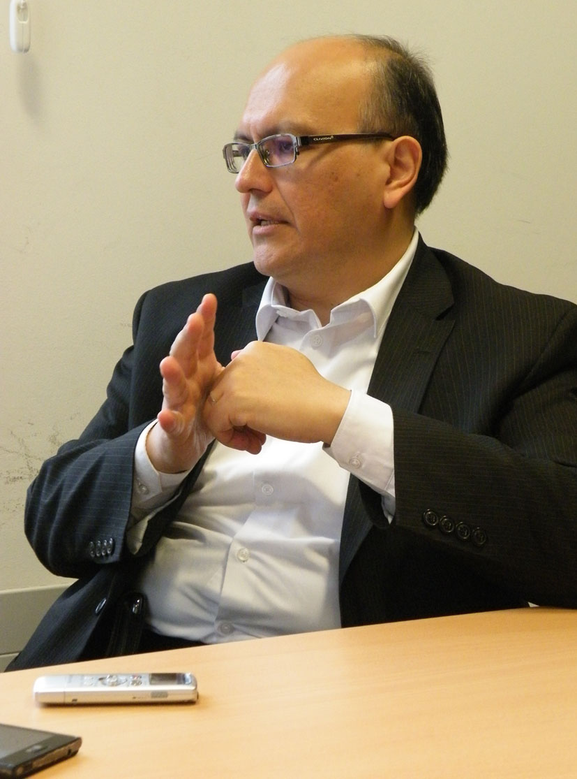 Luis Espinosa Salas en Bilbao. Fotografía de Maddi Goikoetxea.