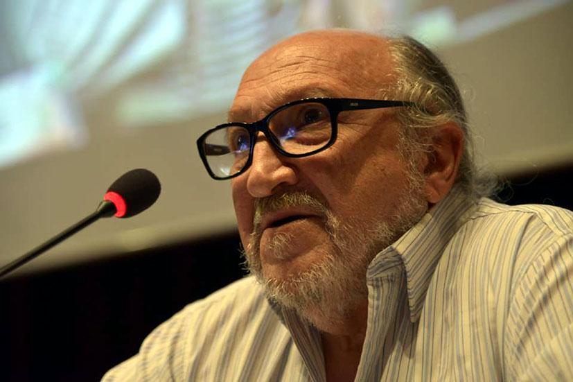 Aram Aharonian tuvo lugar durante el Foro Latinoamericano y Caribeño de Comunicación Popular y Comunitaria celebrado en la sede de CIESPAL (Quito)
