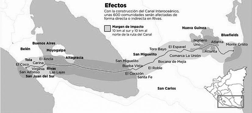 Mapa elaborado por el Centro Humbolt